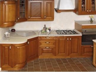 Кухня из массива 4, Мебельная фабрика Ренессанс, г. Кузнецк