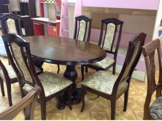 Стол из бука Овал, Мебельная фабрика Ростов-мебель, г. Ростов-на-Дону