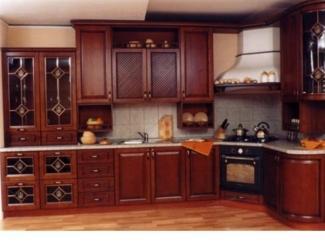 Кухня из массива дерева , Мебельная фабрика KL58, г. Пенза