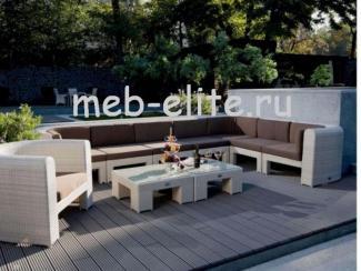 Угловой диван Ротанг Мазара, Импортер  MEB-ELITE (Китай), г. Москва