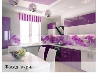 Кухня из акрила, Мебельная фабрика Тринити, г. Самара
