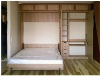 Шкаф с подъемно-откидной кроватью, Мебельная фабрика Мастер Мебель, г. Новосибирск