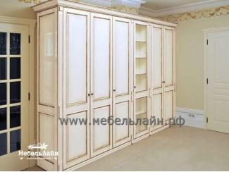Деревянный вместительный шкаф, Мебельная фабрика МебельЛайн, г. Самара